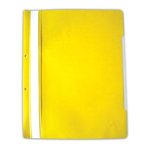 PVC папка DONAU A4  жълта
