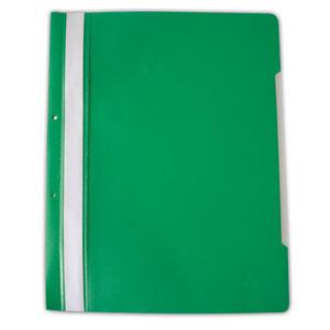 PVC папка DONAU A4 зелена
