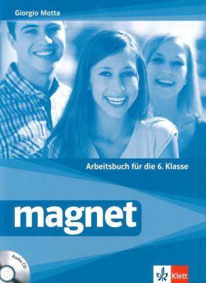 Magnet - ниво A1 - A2: Учебна тетрадка по немски език + CD, 6 кл. - изд. Клет България