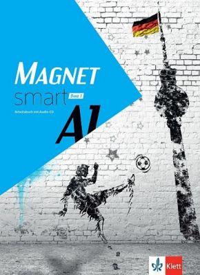 Magnet Smart - ниво A1: Учебна тетрадка по немски език + CD, 9 кл. - изд. Клет България